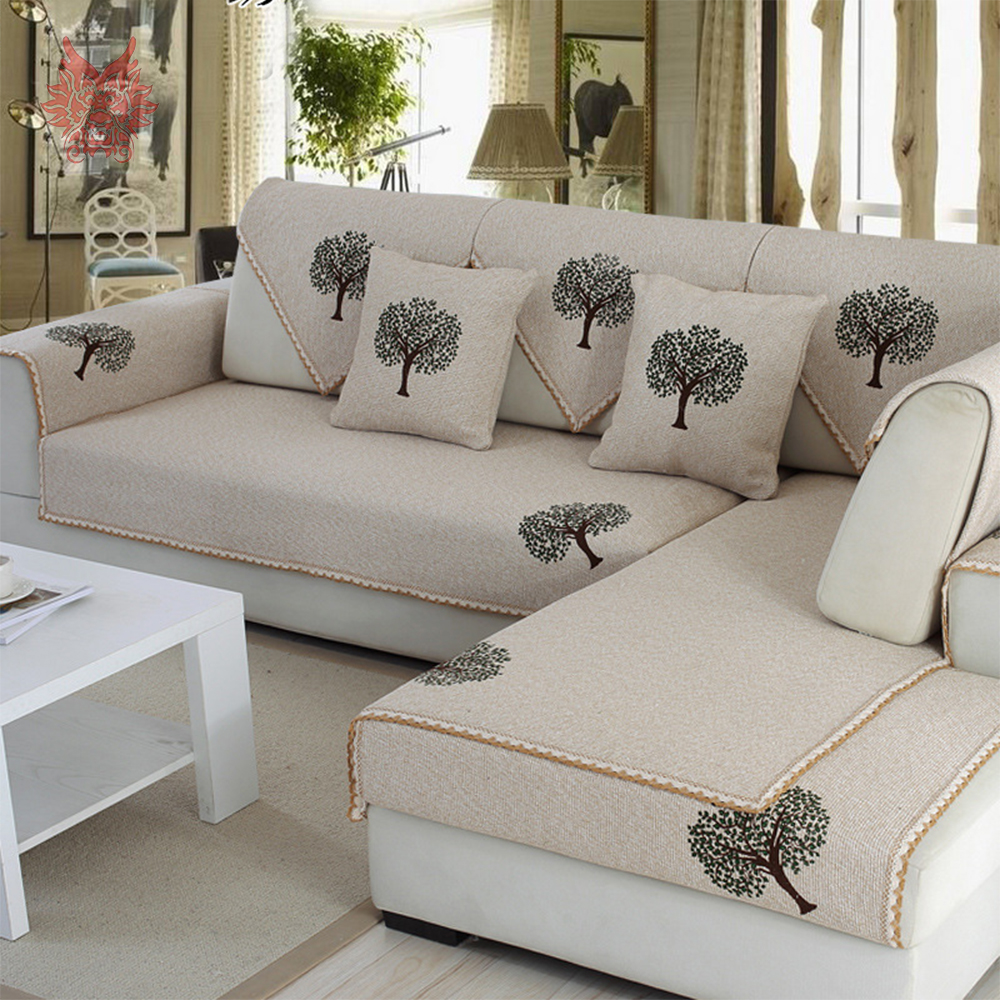 Couch Slipcovers Grey