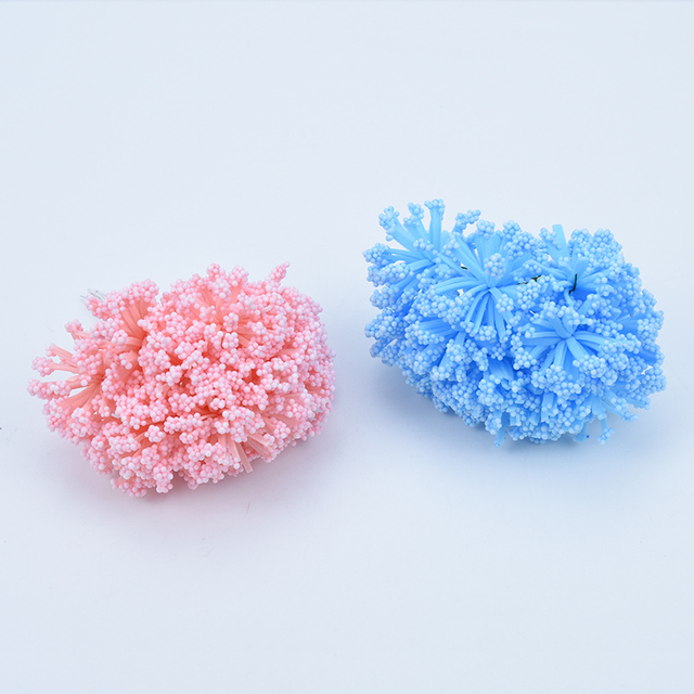 12pcs PE fake lavender foam artificial flowers for home decor wedding bridal accessories clearance diy christmas wreath pompons