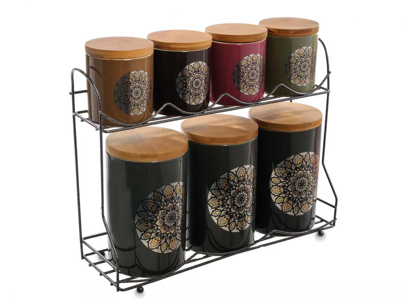 Set jars bulk Art East, 8 items bottles jars