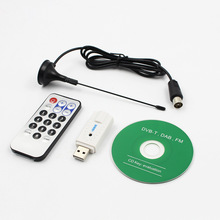 лучшая цена USB DVB-T TV Stick Support MPEG-2/H.264 RTL-SDR FM+DAB DVB-T USB 2.0 Digital TV Stick Tuner Receiver for PC Laptop