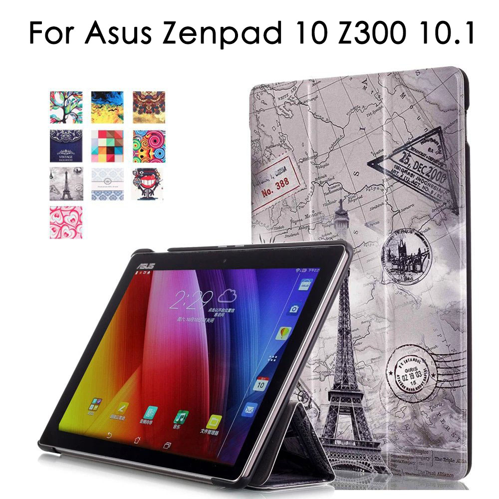 Unique design Magnetic Cover For Asus Zenpad 10 Z300 Z300c z300m Z301MLF Z301ML Z301 10 1