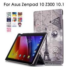 Уникальный дизайн Магнитная чехол для Asus ZenPad 10 Z300 Z300c z300m Z301MLF Z301ML Z301 10.1 Tablet Case PU кожаный чехол откидная крышка