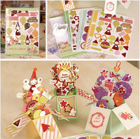 Cute Happy Birthday Card In A Box For Kids Handmade DIY 3D Pop Up Box Card