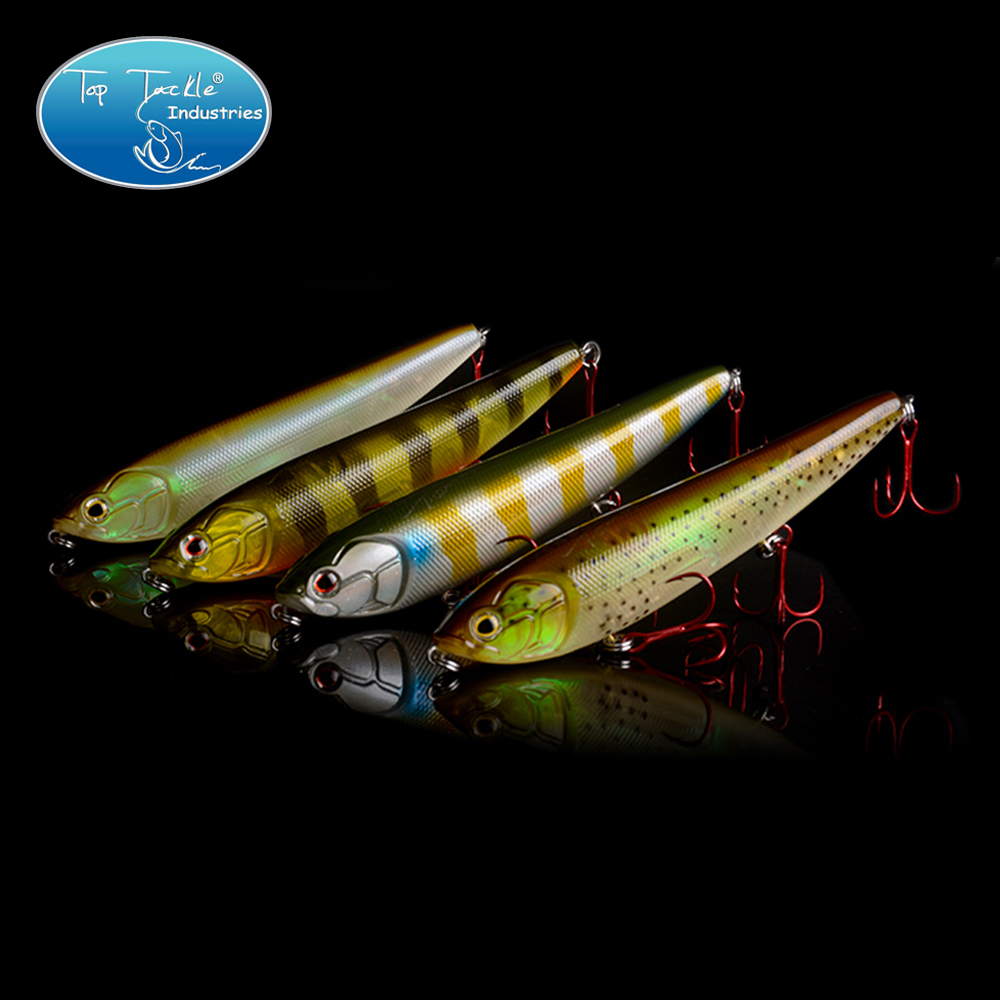 Free Shipping Floating Pencil Topwater Pencil Fishing lure with VMC Hook 155MM 42G banshee 127mm 21g nexus voodoo atj01 swimbait two sction multi jointed topwater walk dog stickbait floating pencil