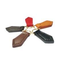 5 Pcs Bag Accessories Instant Fix Zipper Repair Kit Replacement Zip Rescue Genuine Leather New Design Tie Zippers Decor Ornament