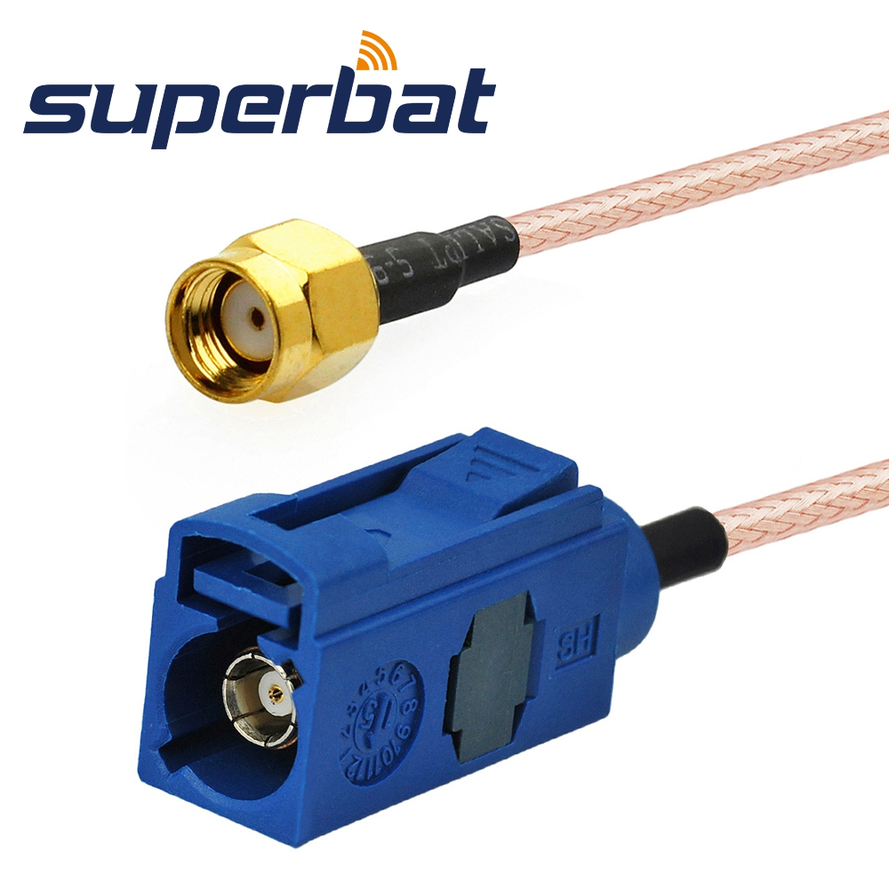Superbat RF Pigtail Cable Fakra Jack