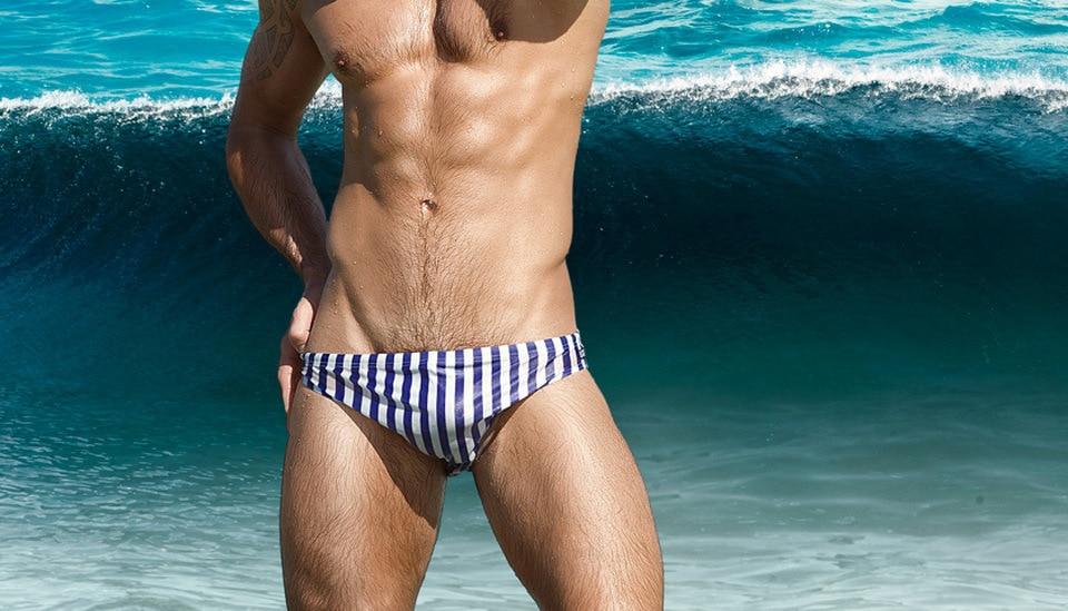 Hot Sexy Men Swimwear Surf Board Beach Wear Man Swimming Trunks Boxer Shorts Swim Suits