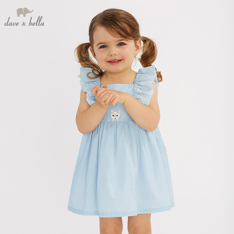 0a907c55e3092 US $29.9 50% OFF DB10215 dave bella summer baby girl's princess cute dress  children party wedding dress kids infant lolital clothes-in Dresses from ...
