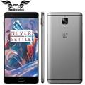 "Nueva original oneplus 3 one plus 3 4g lte móvil teléfono 6 GB RAM 64 GB ROM Snapdragon 820 Quad Core 5.5 ""HD Android 6.0 Huellas Dactilares"