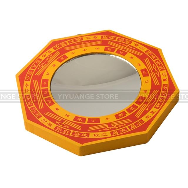Fengshui Rot Holz Konkaven Konvexen Bagua Spiegel Wand Hängen Die 8 ...