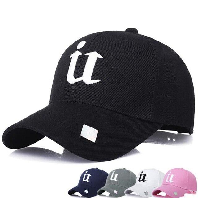 c8a9f4b5855 2018 New letter Baseball Caps it Dodgers Embroidery Hip Hop bone Snapback  Hats for Men Women Adjustable Gorras Casquette Unisex