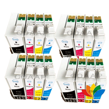 16 Compatible Epson Ink Cartridges for Workforce WF-3520DWF WF-7525 Pro WF-7015 T1301-T1304 T1305 10x new ink cartridges for workforce wf 3010dw wf 3520dwf wf 3530dtwf wf 3540dtwf printer t1291 t1294