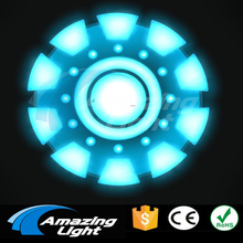 Ironman 6 Sound Active Flash Light El Panel t-shirt panel decoration led flashing panel Free Shipping