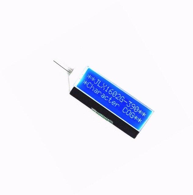 1 יחידות 1602 IIC I2C מודול מסך תצוגת LCD תאורה אחורית כחולה בורג ST7032 אופי