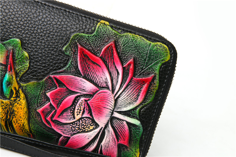 genuine leather wallet female (12)