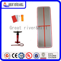 Great river&hill training mat inflatable air track kids gym training 3m x 1m x 10cm