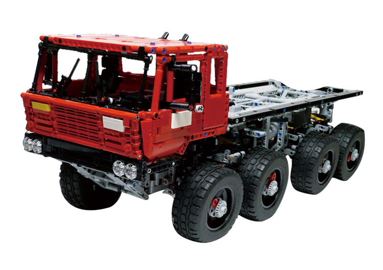 2017 NEW Lepin 23012 2839Pcs Genuine Technic Series The Arakawa Moc Tow Truck Tatra 813 Educational Building Blocks Bricks new lepin 23012 2839pcs genuine technic series the arakawa moc tow truck tatra 813 educational building blocks bricks toys gift