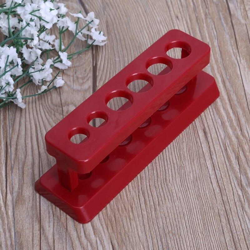 Schule & Educational Supplies Office & School Supplies Realistisch 1 Pctest Rohr Halter 6 Loch Kunststoff Rack Red Stehen Bürette Stehen Regal Labor Seien Sie Im Design Neu