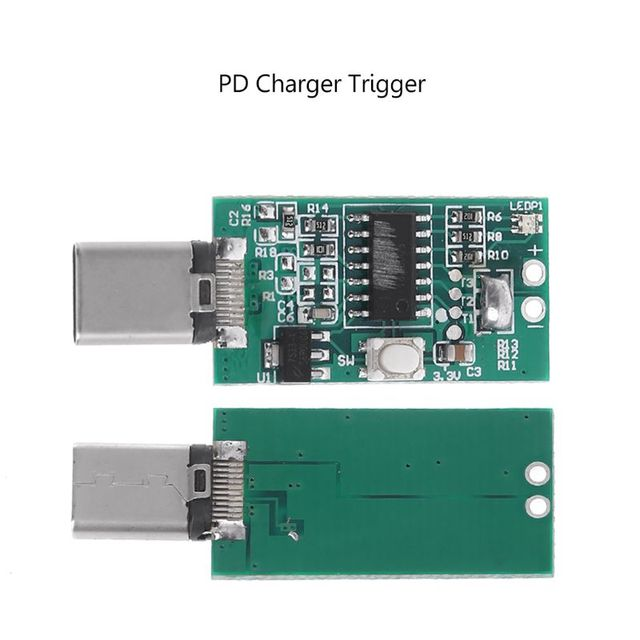 PD protocol type-c charger PD2.0 automatic voltage detector 5V9V12V15V20V for xiaomi PD charger trigger