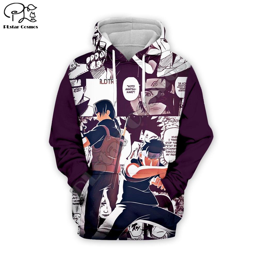 PLstar Cosmos Naruto 3D Printed Hoodie Mens Womens Hip Hop Apparel Boy For Girl Hoodies Anime Jacket Plus Size XS-7XL