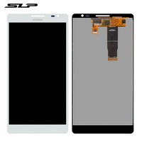 Skylarpu White Complete LCD For Huawei Ascend Mate MT1 U06 Cell Phone Full LCD Display Touch