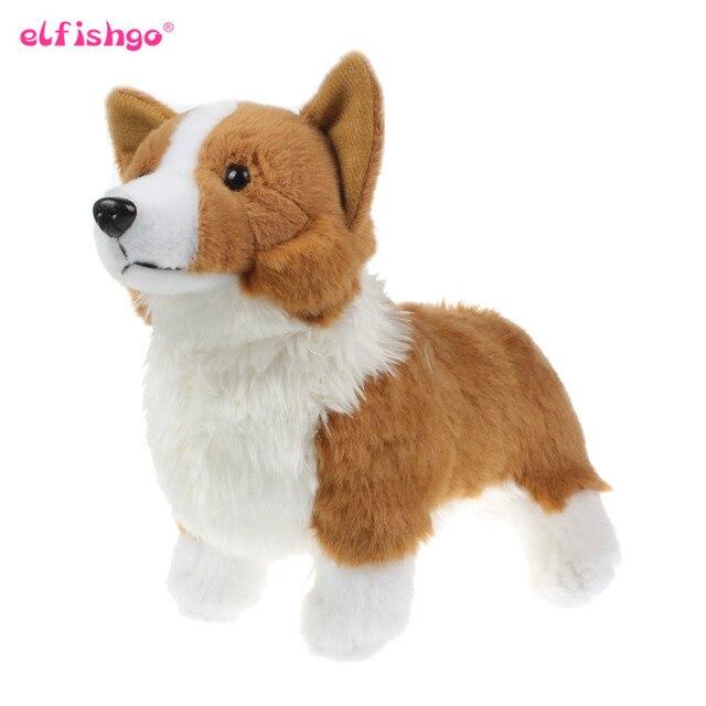 Corgi Kawill Boneca Simulação Animais Empalhados Corgi Cães De Pelúcia Brinquedos Dos Miúdos Bonitos Das Crianças Brinquedo Educativo Presente 30 cm
