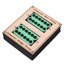 2 unids/caja cerámica verde imán pastillas Humbucker guitarra eléctrica para Gibson Les Paul SG