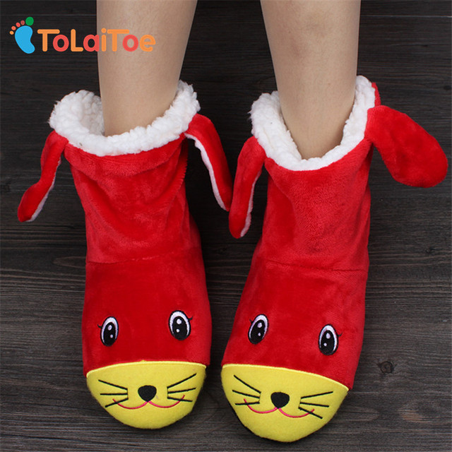 ToLaiToe Winter cotton-padded Women package with slippers cotton-padded shoes high thermal cotton-padded shoes slippers short