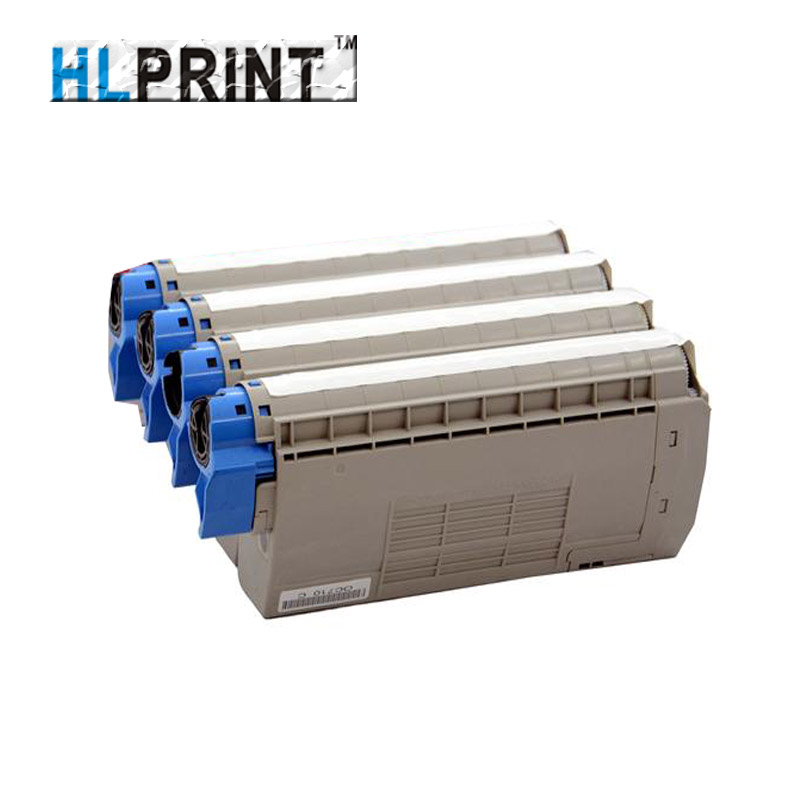 44318605/44318606/44318607/44318608 c710 C711 Color Toner Cartridge compatible OKI C710DN C711DN 1pcs/Lot 4 pack high quality toner cartridge oki mc860 mc861 c860 c861 color printer full compatible 44059212 44059211 44059210 44059209