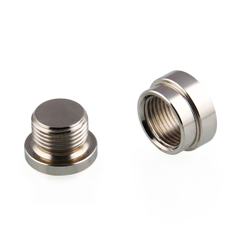 New Oxygen Sensor Stainless Steel Weld On Bung & Plug Wideband Nut & Cap Kit