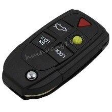 5 Buttons Remote Flip Folding Key Shell Case For Volvo XC70 XC90 V50 V70 S60 New
