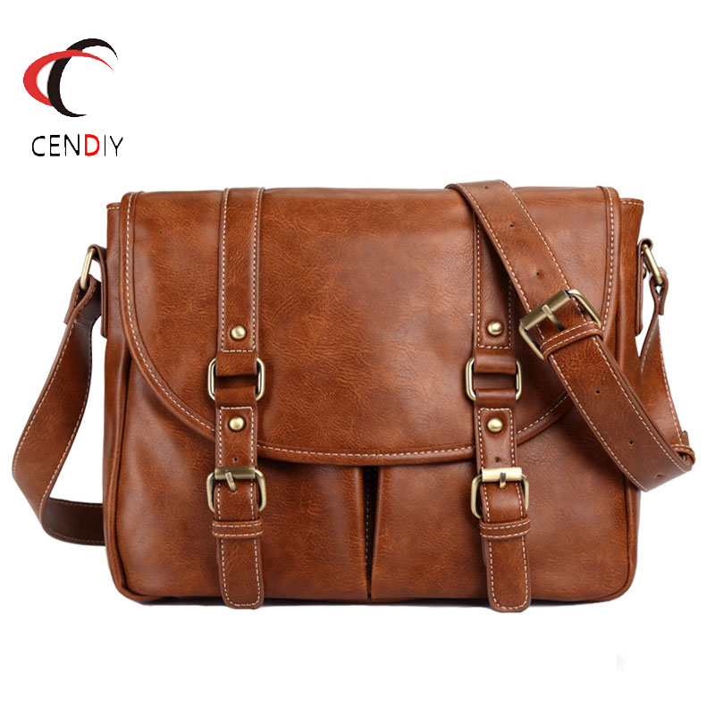 2019 Business Shoulder Bags Travel Bag PU Leather Men Briefcase Brand Luxury High Quality Men's Messenger Bag Male Laptop Bag