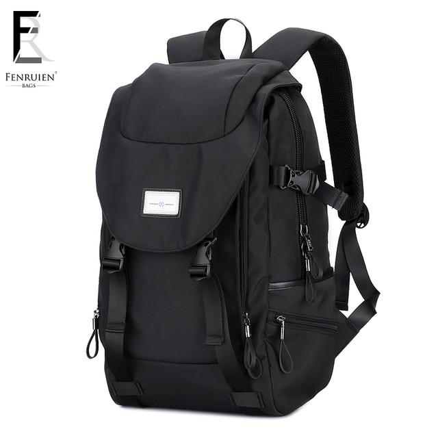 FENRUIEN 15.6 pouce Ordinateur Portable Sac À Dos Hommes de Voyage Sacs  2018 Multifonction Sac À 2a1eea56d57d