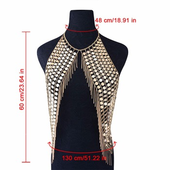 Luxury Choker Bra Body Chain7