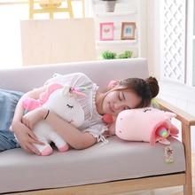 1pc 20/35/45cm Kawaii Unicorn Plush Toys Giant Stuffed Animal Horse for Children Soft Doll Home Decor Lover Birthday Gift