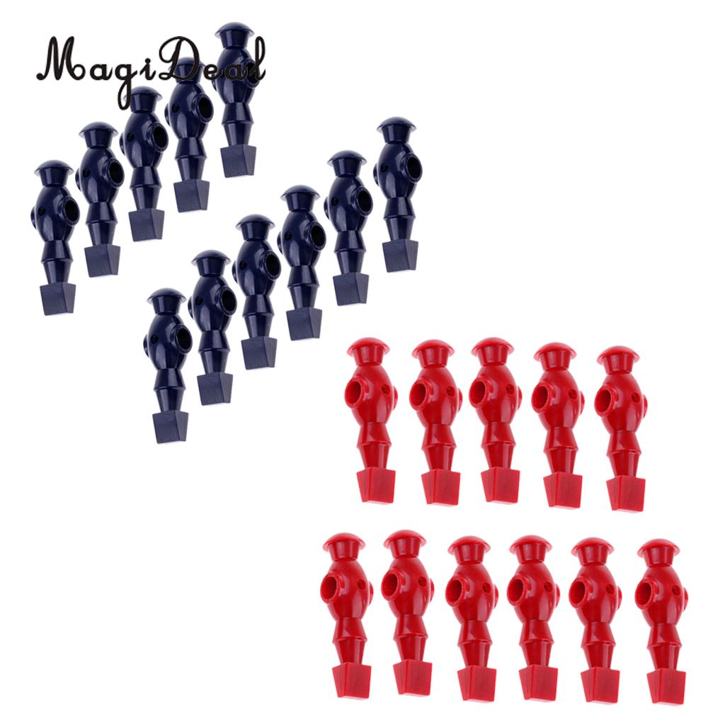 MagiDeal 22 Pieces Table Soccer Players Foosball Table Men Man Player For 1.2m Foosball Table
