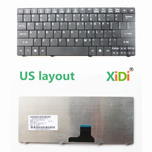 NEW US Keyboard untuk ACER Aspire one 751 H ZA3 Laptop Keyboar(China)
