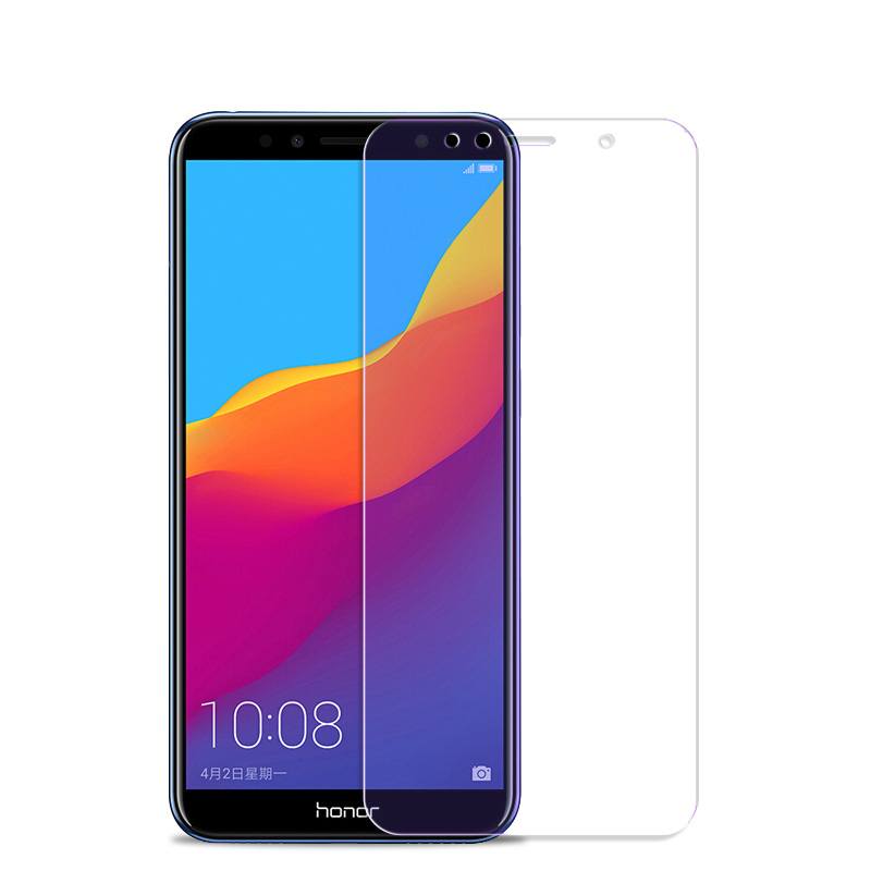 2pcs Tempered Glass For Huawei Honor 7A 7C Pro Russian Version Explosion-proof Protective Film Screen Protector