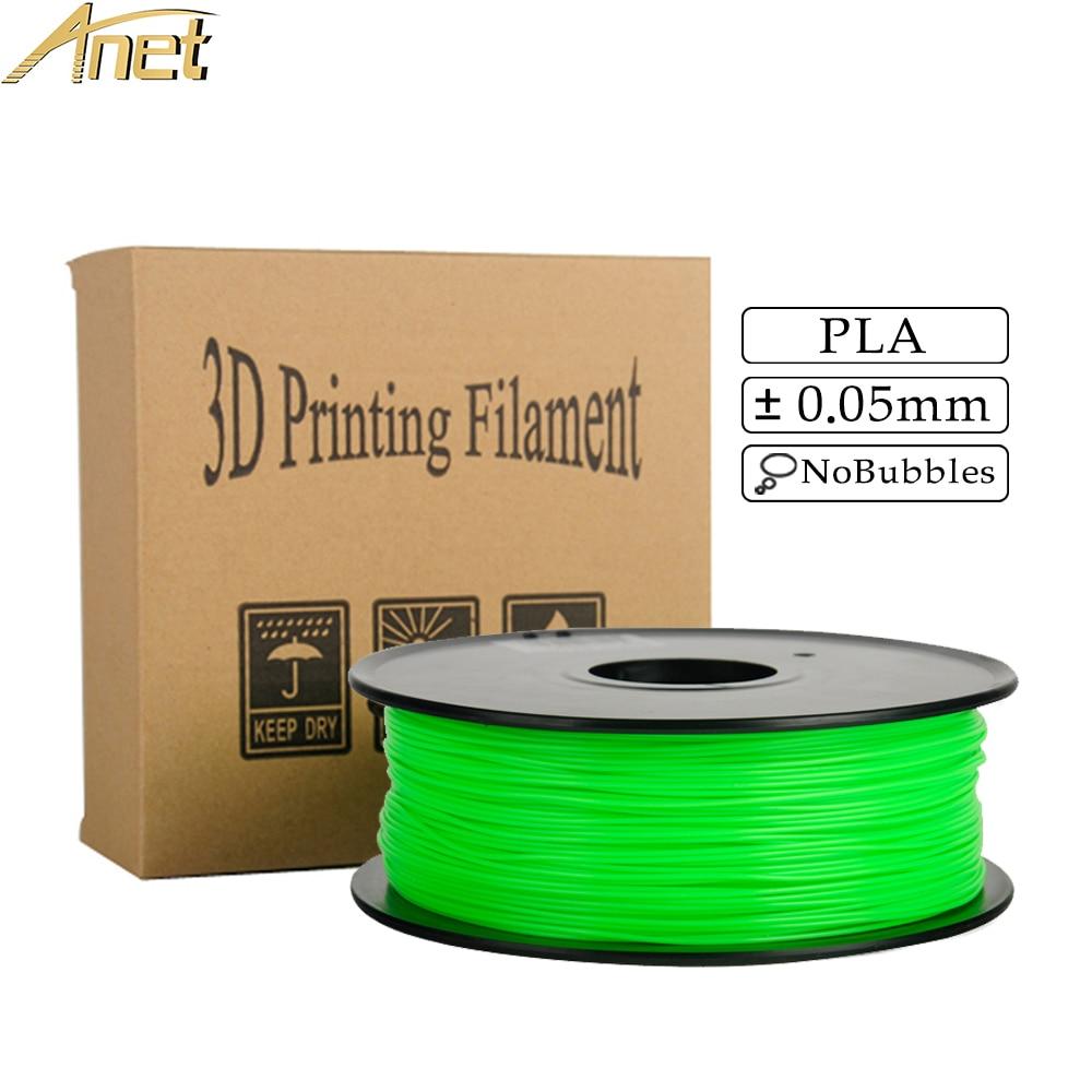 все цены на PLA 1.75 1kg/0.5kg Roll Plastic Rod Ribbon Consumables Material Refills For MakerBot/RepRap/UP/Mendel 3D Printer Pen filament онлайн