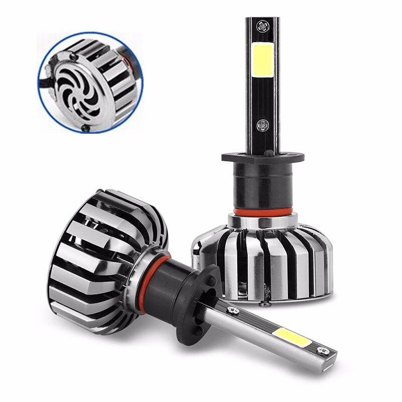 Car COB LED Headlight H8 H9 H11 H7 H1 80W 8000LM All In One Auto LED