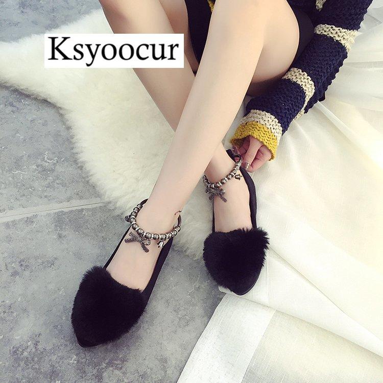gris Dames Pour Printemps Femmes Plates Marque Confortable Pointu 18 2019 Nouvelles Décontracté Ksyoocur 009 Chaussures Noir Bout e92HEDYWI
