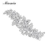 2015 New Floral Crystal Bridal Hair Combs Bridal Hairpins Hairstyle Braider Tiara Hair Jewelry Wedding Accessories