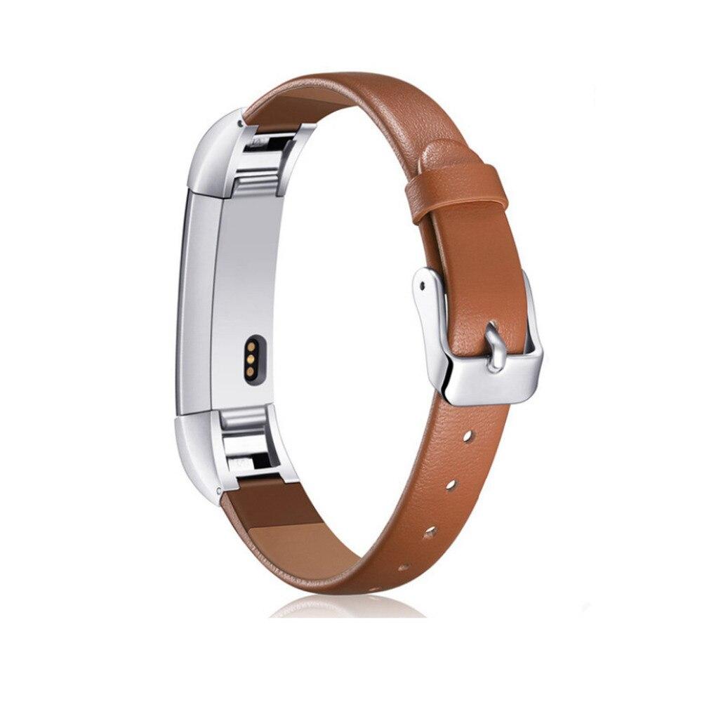 LNOP Para cinta de Couro banda Substituição Fitbit Alta hr HR de pulso Pulseira cinto correa para fitbit alta Rastreador bandje alta hr