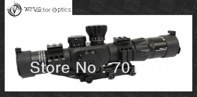 Vector Optics Gladiator 2-12x32 FFP Shooting Compact Rifle Scope with 35mm Cantilever Offset Weaver Mount Ring Free Shipping