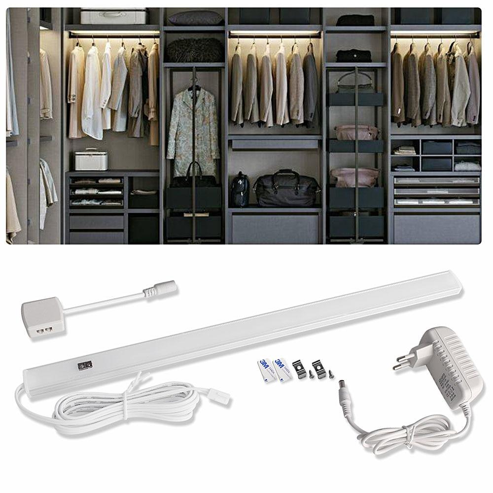 12 В датчик светодиодный шкаф кухонный светильник ручной развертки датчик движения бар освещение спальня шкаф огни Светодиодные лампы лампада|Подшкафные лампы|   | АлиЭкспресс