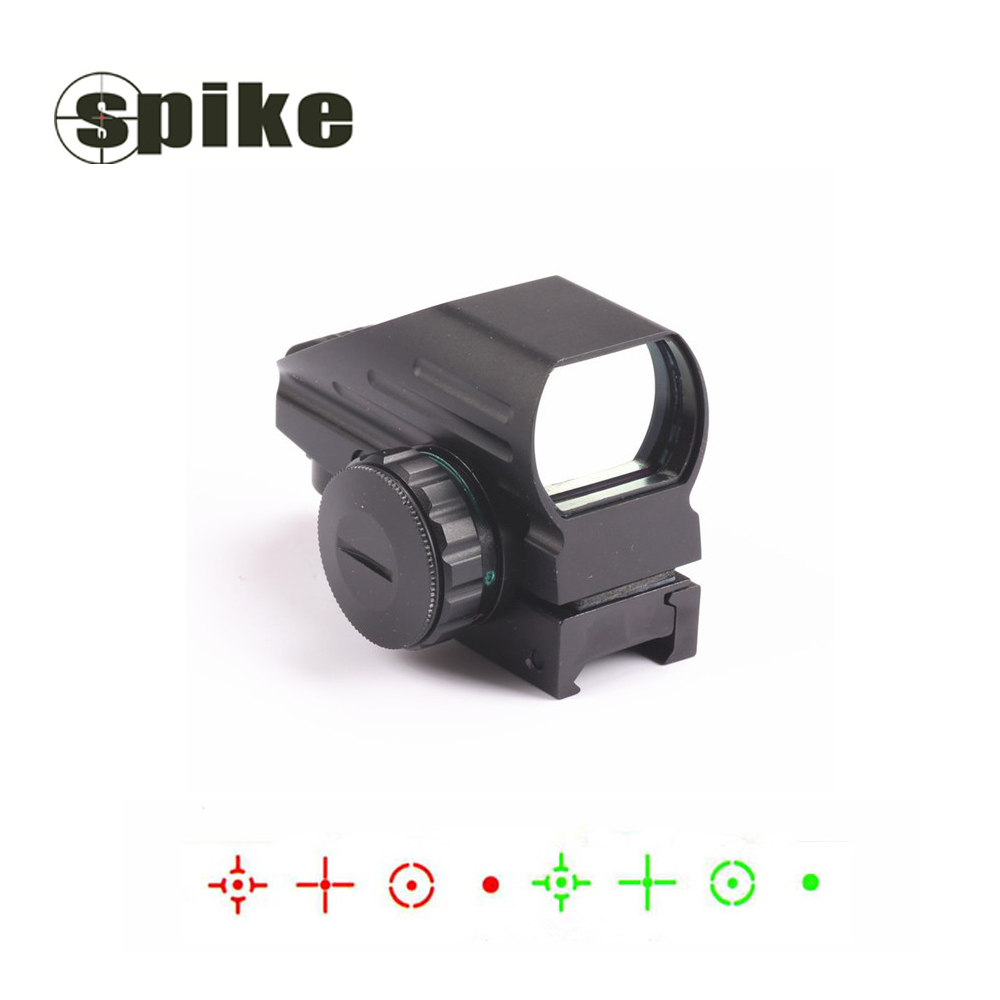 Spike Tactical AK Holographic 1x22x33 Reflex Red Dot Sight Green Red Dot Sight Reflex Scope 11mm 20mm Hunting caza