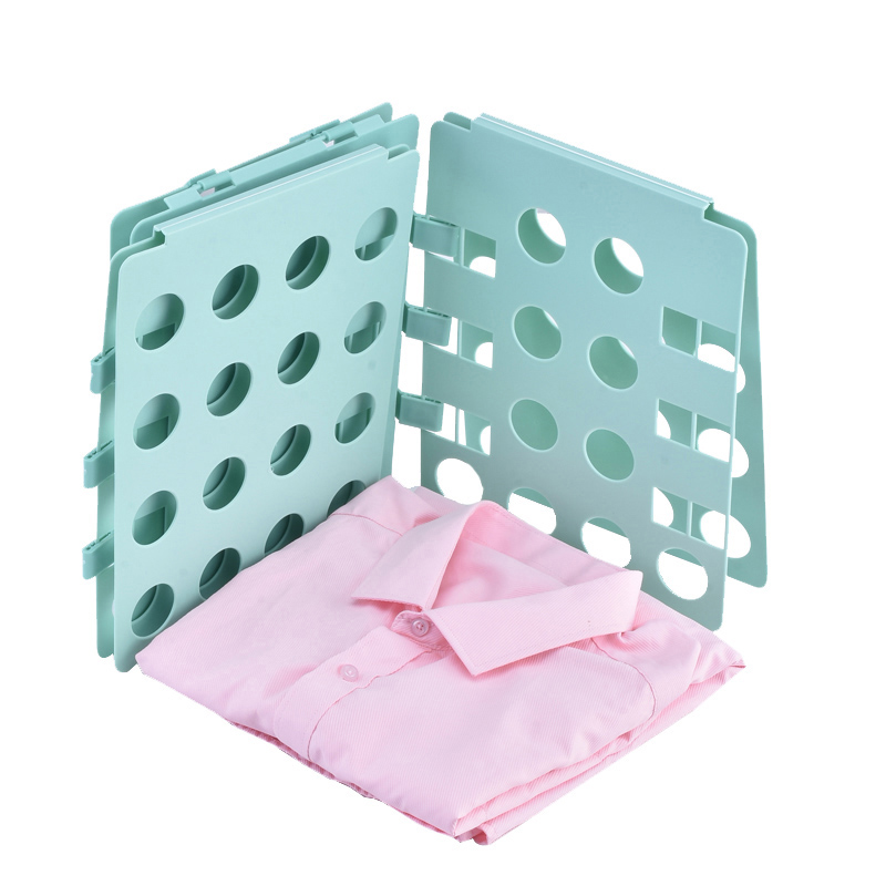 Купить с кэшбэком Adult Child Clothes Folding Board Closet Organizer Clothing Folder Boards Quick Clothes Holder Laundry Home Storage Organization