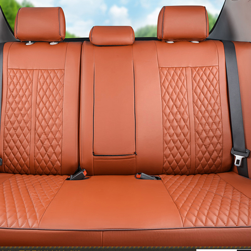 CARTAILOR PU leather car seat cover set for volkswagen beetle seat