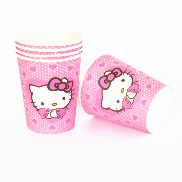 Hello Kitty theme Kids Birthday Party Decoration Set Party Supplies Baby Birthday Pack event party supplies 3