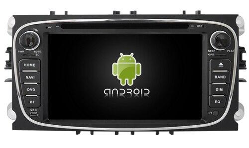 Navirider voiture dvd autoradio android 6.0 4G lite wifi gps écran adapté pour FORD MONDEO bluetooth navigation voiture dvd